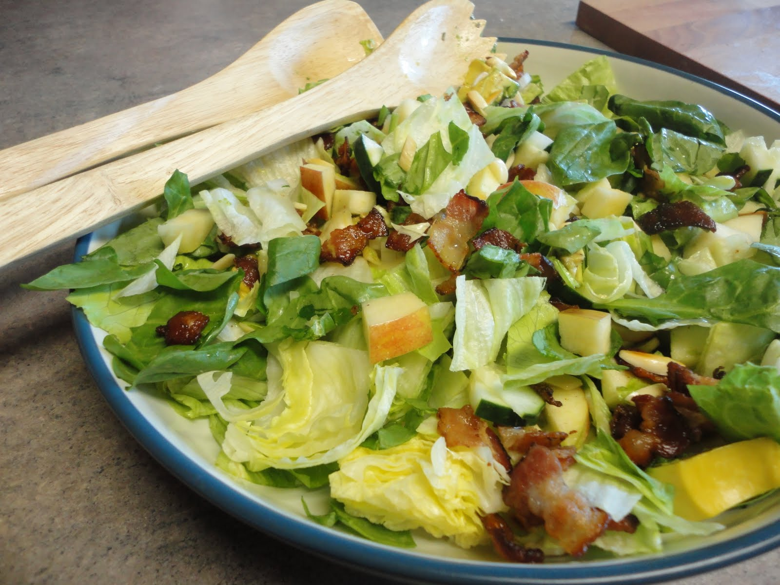 The Frickin Chicken: Apple & Bacon Salad