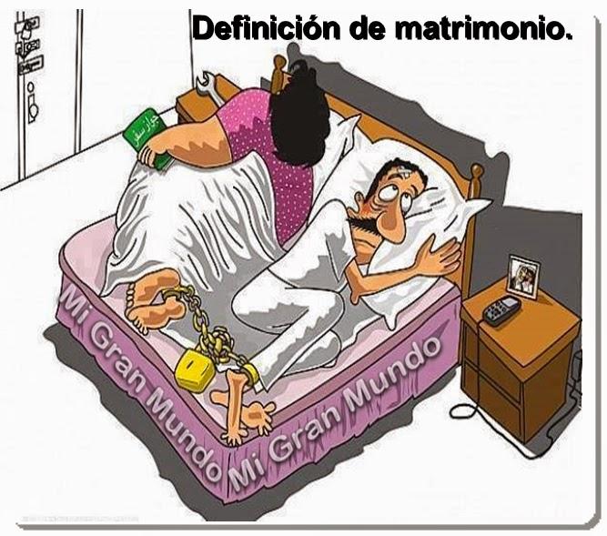 Matrimonio Definicion : Caricias al corazón definiciÓn de matrimonio