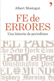 Libro Fe de Errores, de Albert Montagut