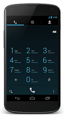 Android 4.3 - Dial pad