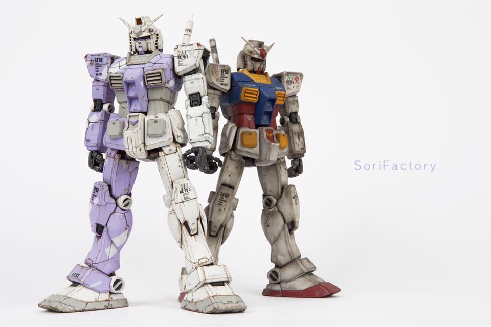 Perfect Grade RX-78-2 Gundam Hybrid