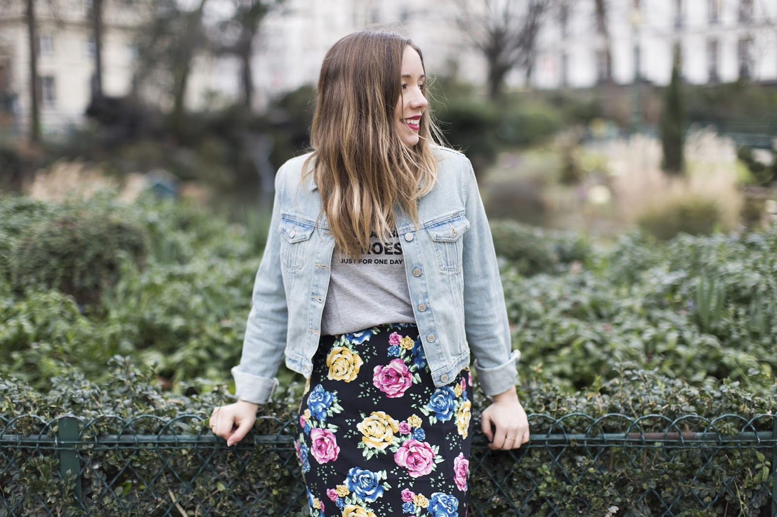 Blog mode printemps 2015 veste en jean bleach