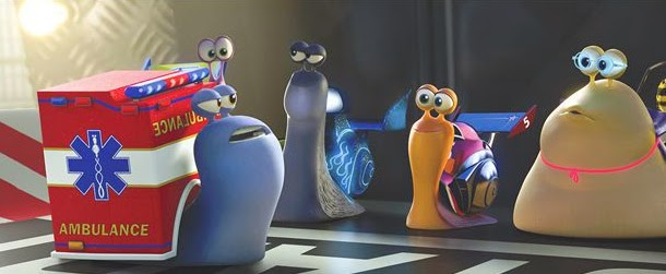crítica de Turbo, el caracol de carreras