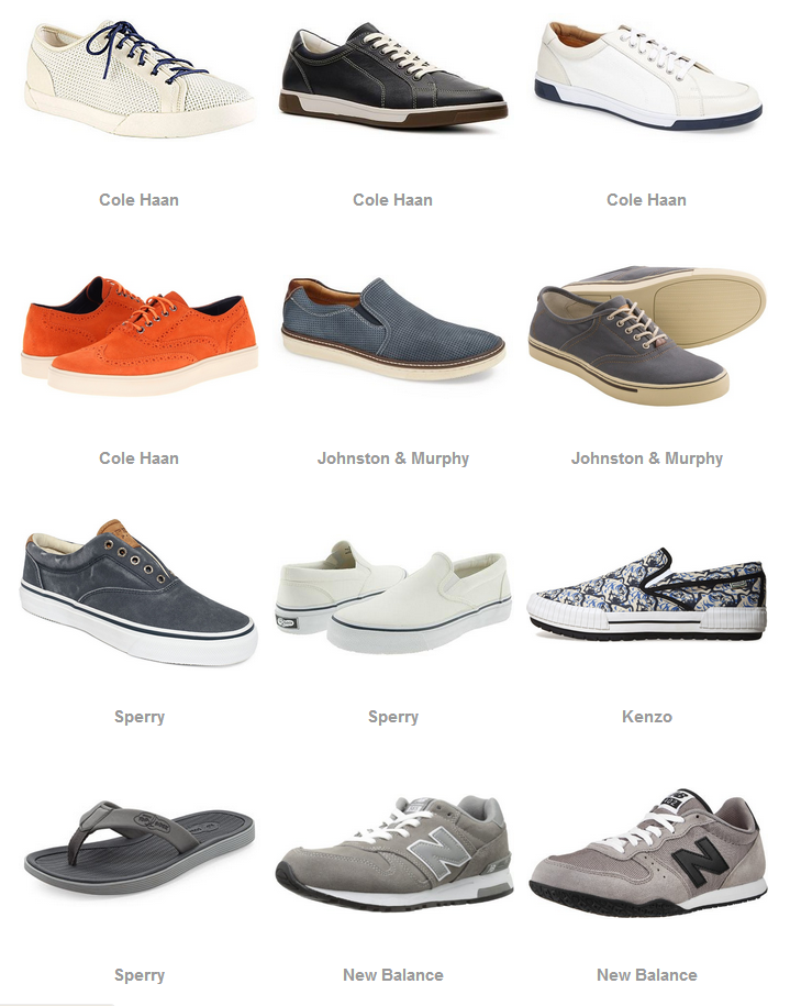 Men's Summer Shoe Guide