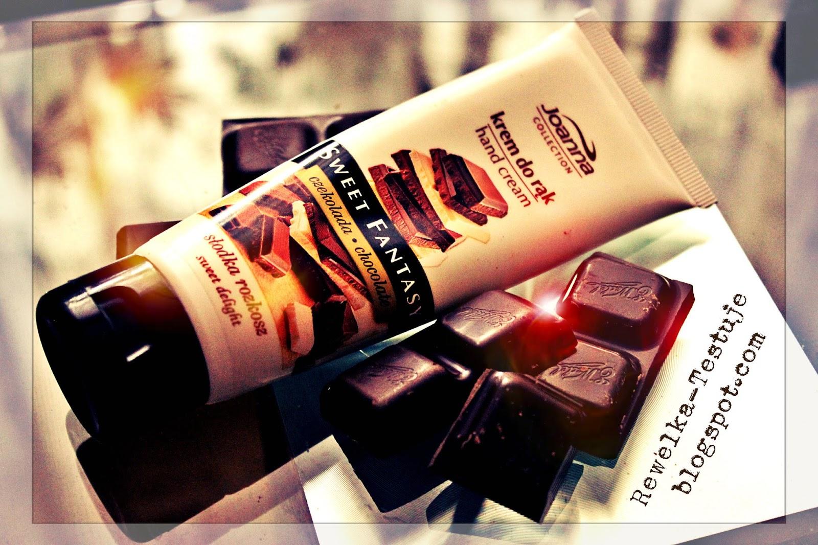 Czas na przyjemność, która nie tuczy - czekoladowy krem do rąk Joanna Cosmetics :)
