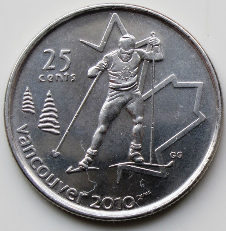 Coins That Are Worth Money http://coinedformoney.blogspot.com/2012/04/2009-canada-cross-country-skiing.html