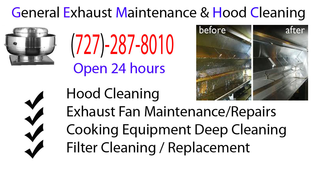 Restaurant Hood Cleaning : Clearwater