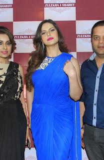 Zarine Khan at Zulekhans Collection Launch Pictures 76..jpg