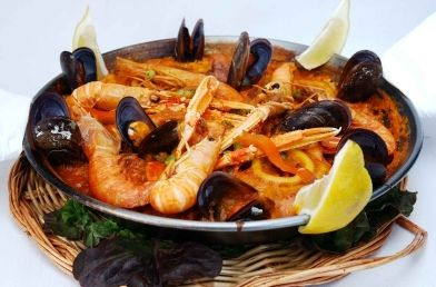 Recipe sea food paella authentic spanish food food channel try this seafood paella its an authentic spanish food recipe it just an easy to prepare and to cook everybody love to eat this seafood paella because of forumfinder Gallery