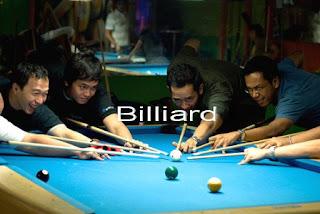 Gambar DP Lucu Unik Olahraga billiard