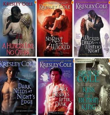 The immortals after dark series