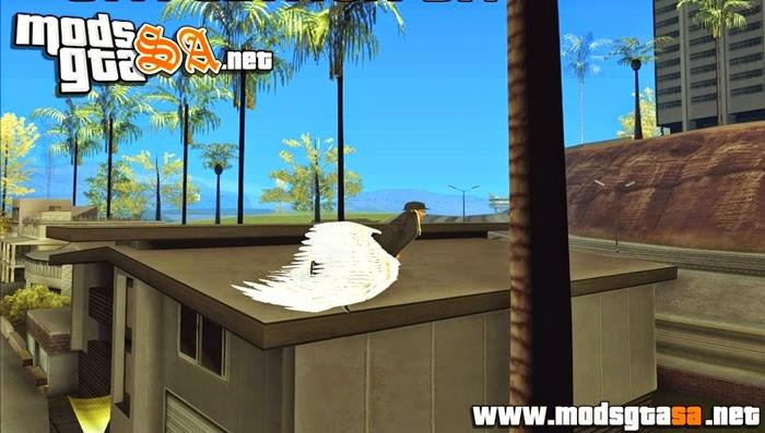SA - Mod CJ Voar com Asas V1.0