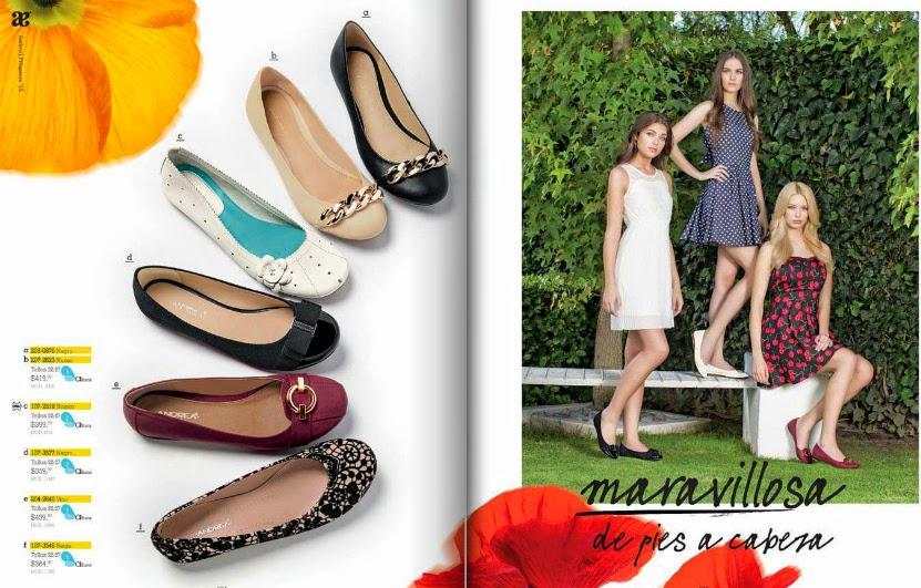 Catálogos Andrea 2015 ( NUEVOS) primavera 2015
