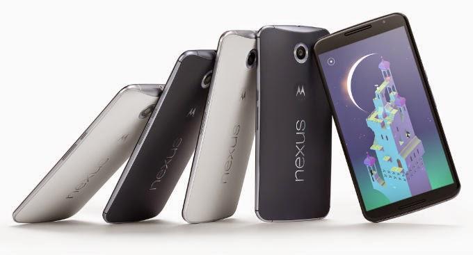 Smartphone Nexus 6 Terbaru