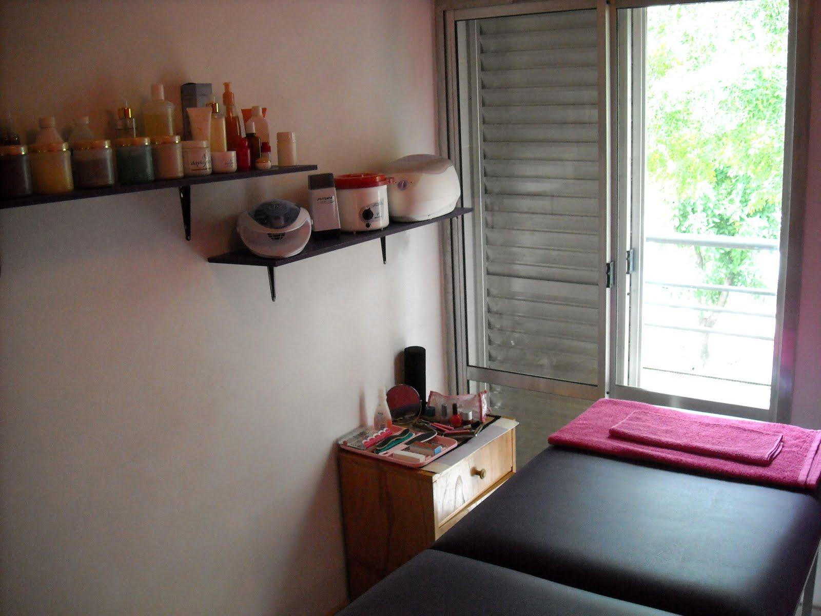 Servicio sala de masaje trabajo de mano