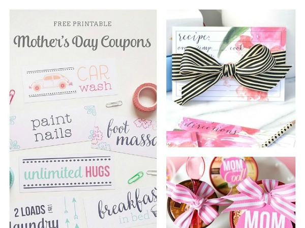 Last Minute Mother's Day Printables