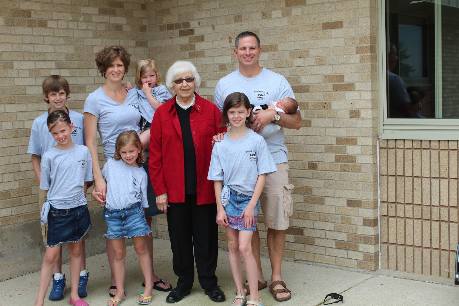 Belken Family: Grandma Rojemann\'s 90th Birthday
