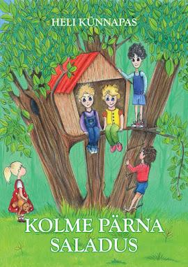 """Osta siit lasteraamat """"Kolme pärna saladus"""":"""