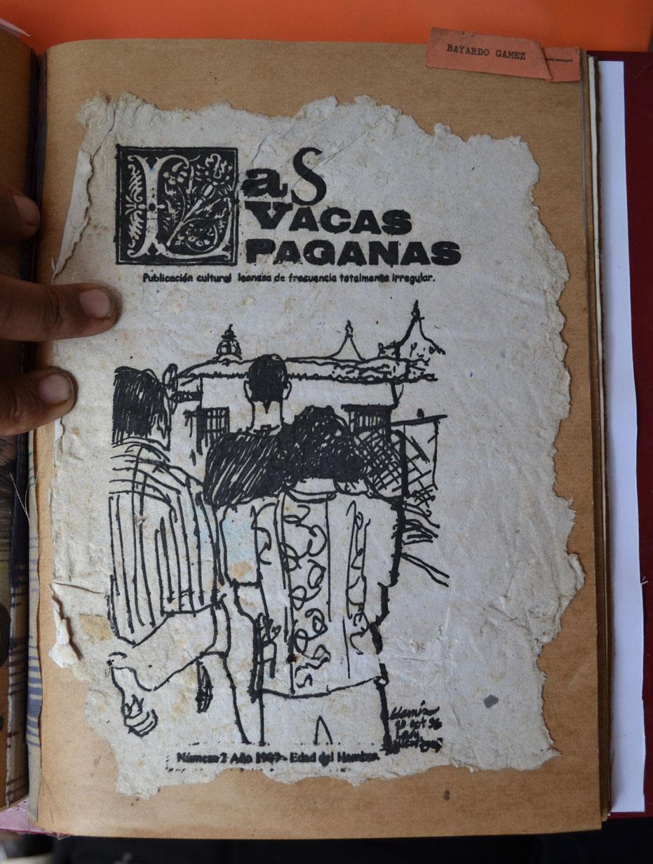 """PORTADA DE """"LAS VACAS PAGANAS"""" NÚMERO 2"""