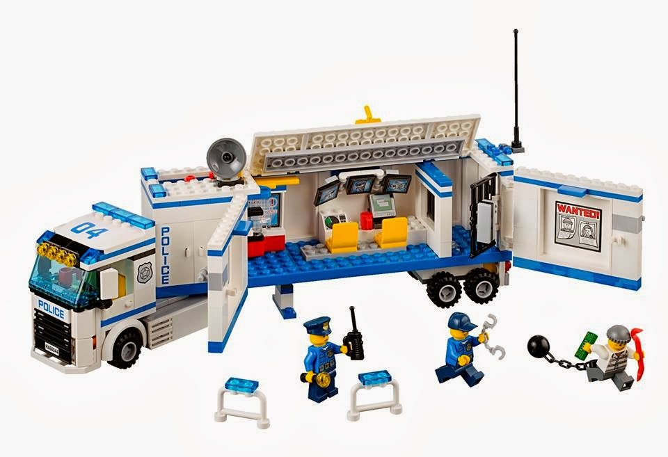 Detoyz shop 2014 lego city police town sets - Lego city police camion ...