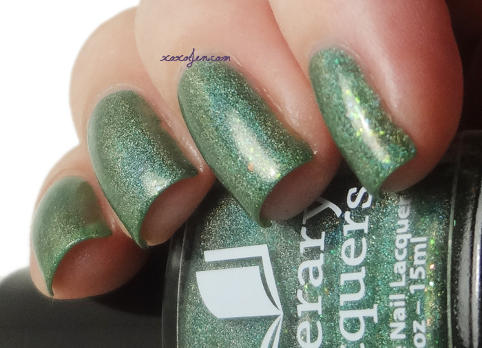 xoxoJen's swatch of Literary Lacquers Bottletown