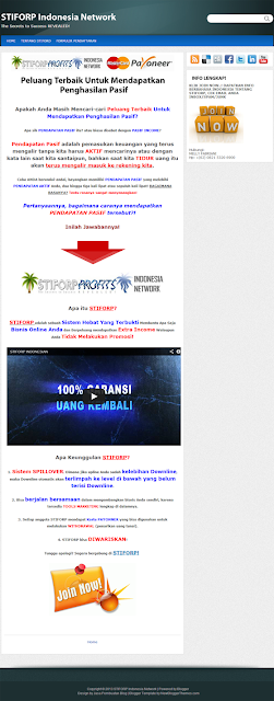 STIFORP Indonesia Network