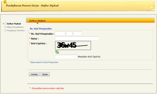 Cara daftar online untuk Skim Latihan 1Malaysia (SL1M)