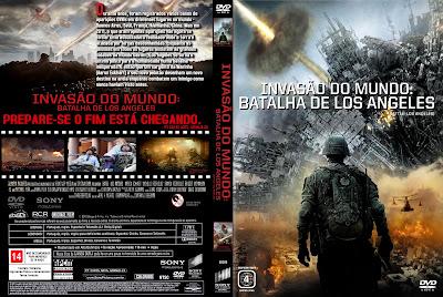 Invasão do Mundo A Batalha de Los Angeles DVD Capa