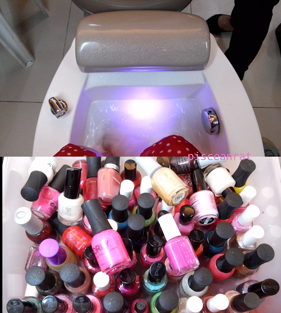 foot soak, nail polish brands offered by nailogy,