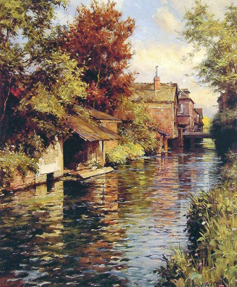 19th century american paintings louis aston knight ctd for Oil art for sale