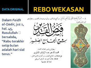 Kupas Tuntas Doa dan Amaliyah Rebo Wekasan