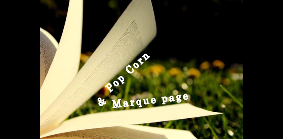 Pop-Corn & Marque-Page