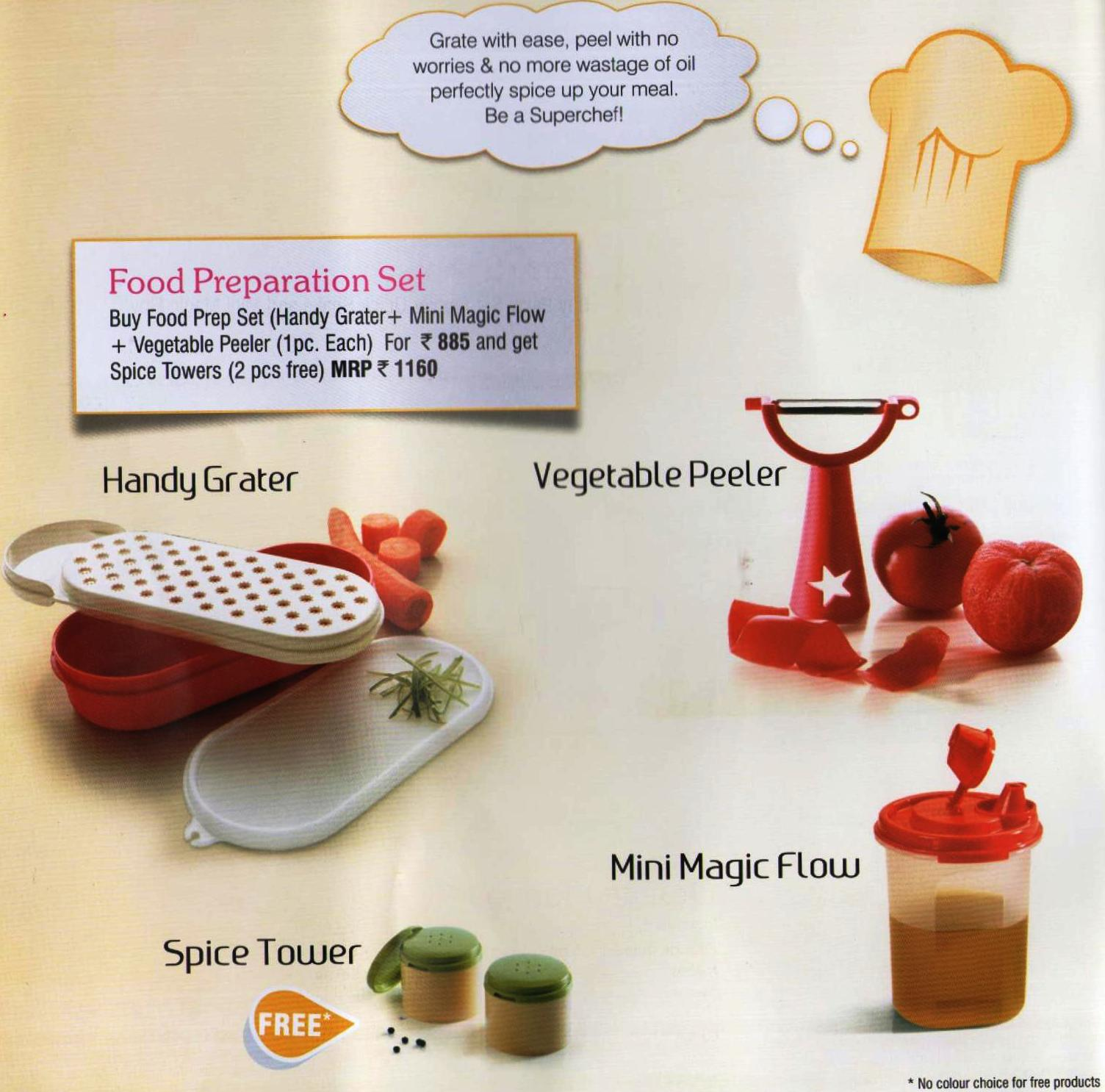 Tupperware Products India Fact Sheet Week