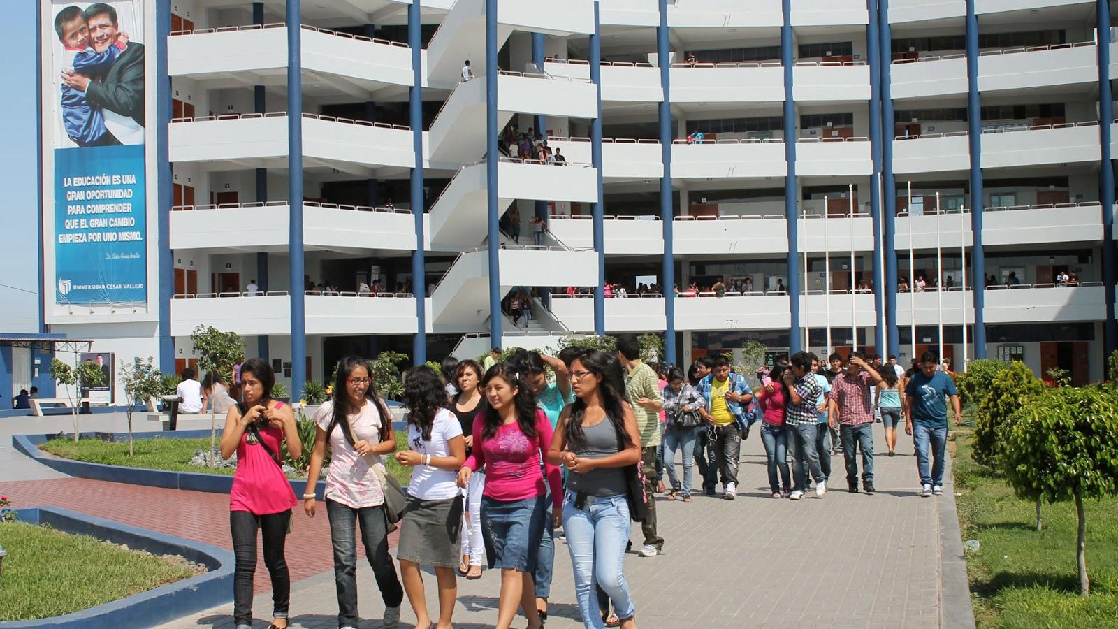 Cesar Vallejo universidad zona norte