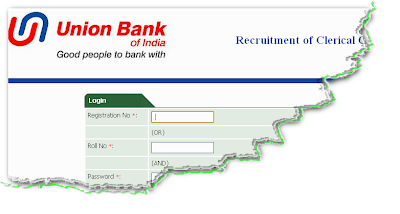 Union Bank Clerk Recruitment 2012 Online Form
