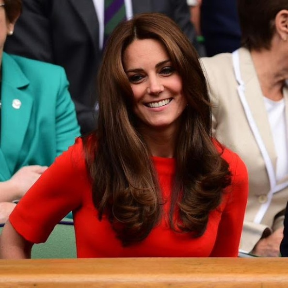 Catherine, Duchess Of Cambridge and Prince William At Wimbledon