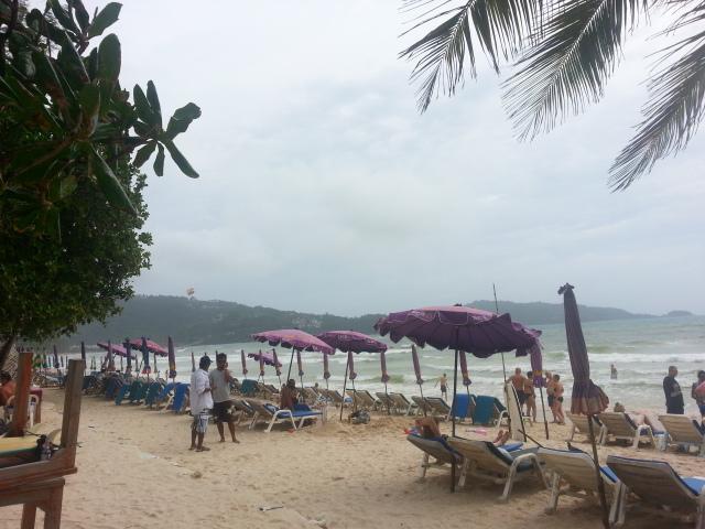 Patong beach 14 July