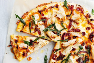 Christmas turkey pizza recipe