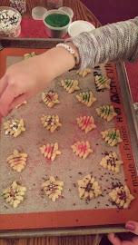 Spritz Cookies - December 2014