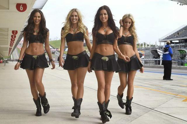 Yamaha Tech3 MotoGP Paddock Girls