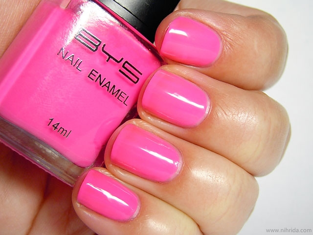 BYS Nail Polish in Pink Panic