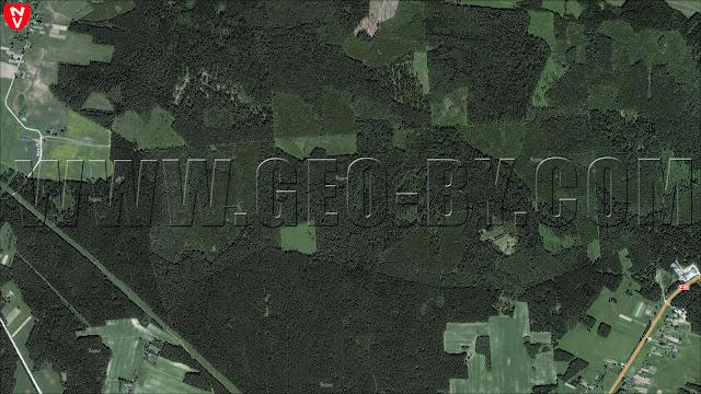 Спутниковая карта местности