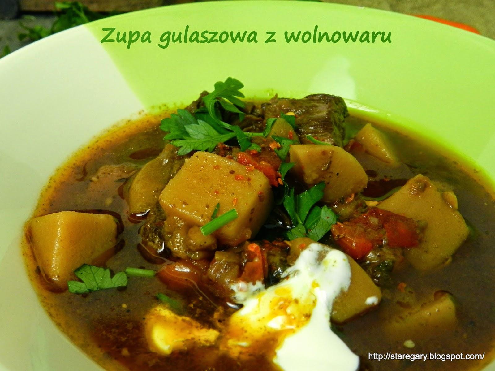 Zupa gulaszowa z wolnowaru