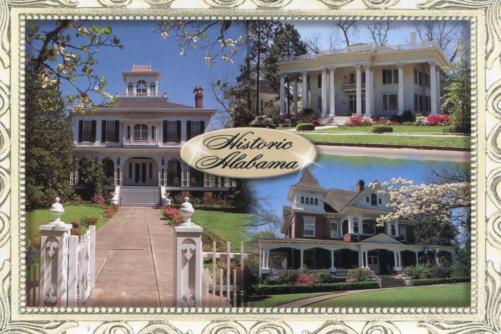 Mystery homes in alabama postally yours for Home builders in south alabama