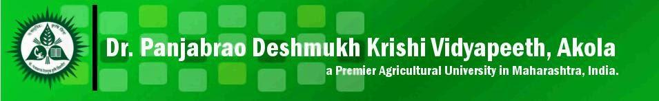 Panjabrao Deshmukh Krishi Vidyapeeth, Akola Bharti 2015 Apply Online pdkv.ac.in