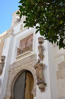 Puerta del Perdón, patio de los naranjos, Catedral (Sevilla)