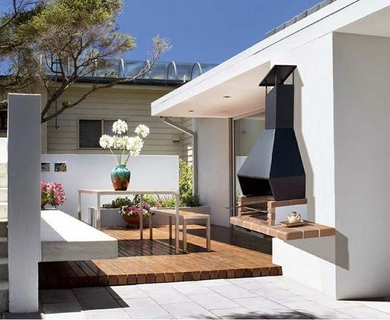 Inspiraci n deco decora tu terraza o jard n con una - Barbacoa de balcon ...