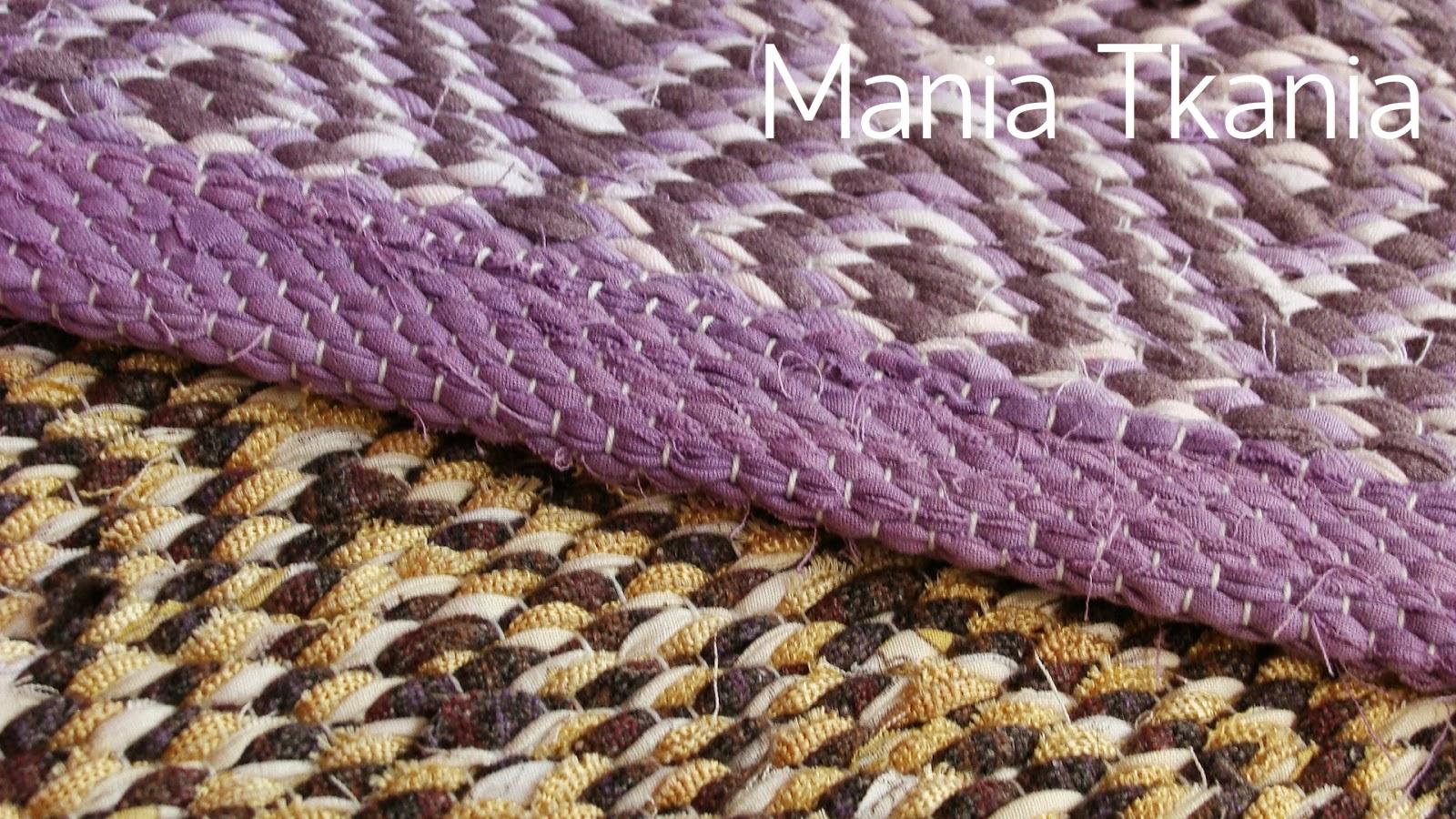 ręcznie tkany dywanik szmaciak