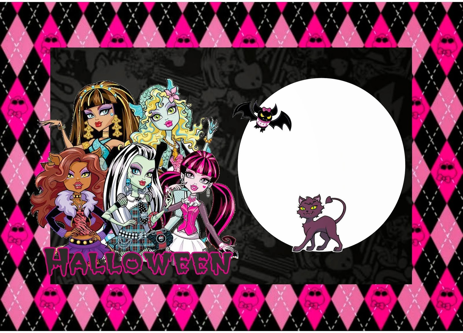 Monster High Free Invitation Template was luxury invitations template