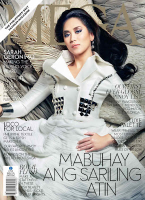 Sarah Geronimo MEGA Magazine June 2012 cover